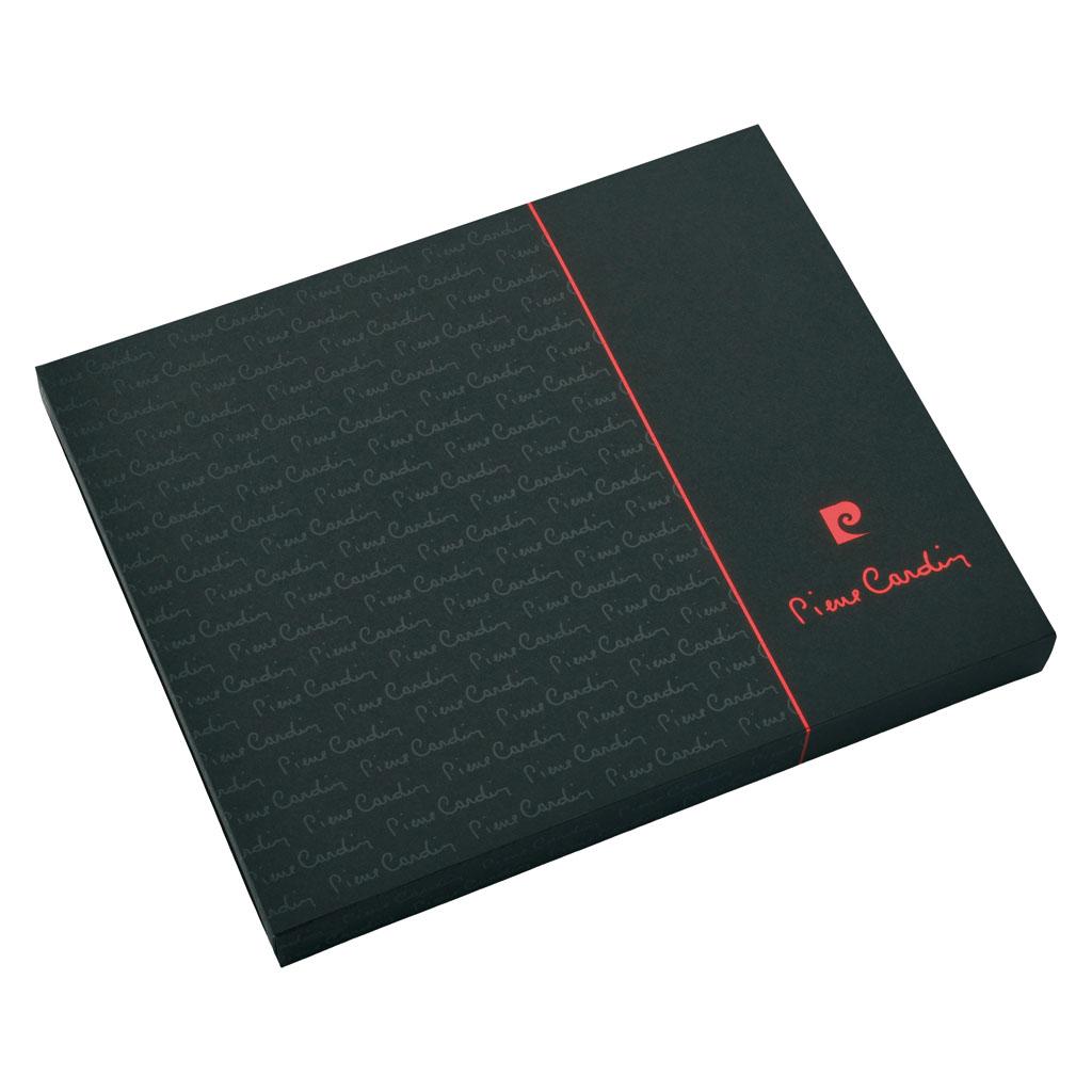Pierre Cardin Capucine Blok A5 linajkový, 224 I., čierny + roller
