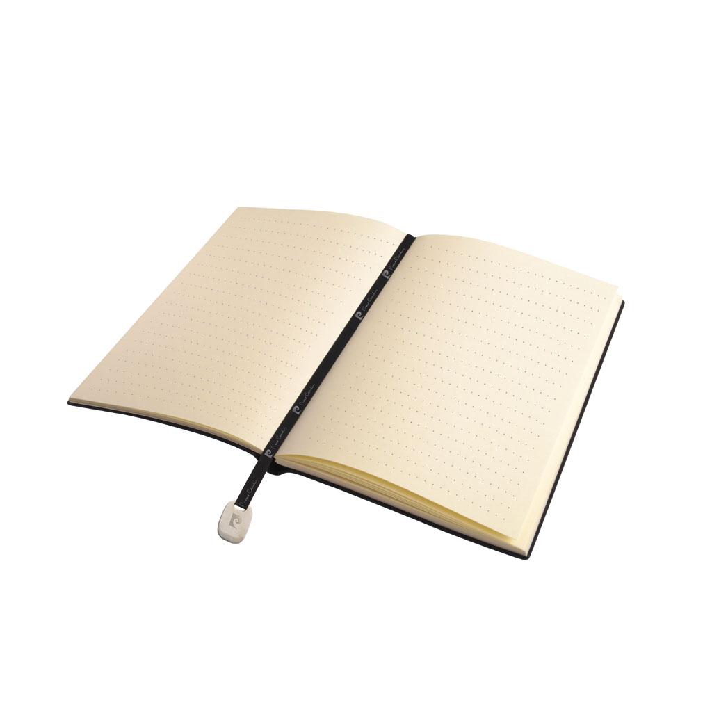 Pierre Cardin Reporter Blok A5 bodk., 160 I., šedý