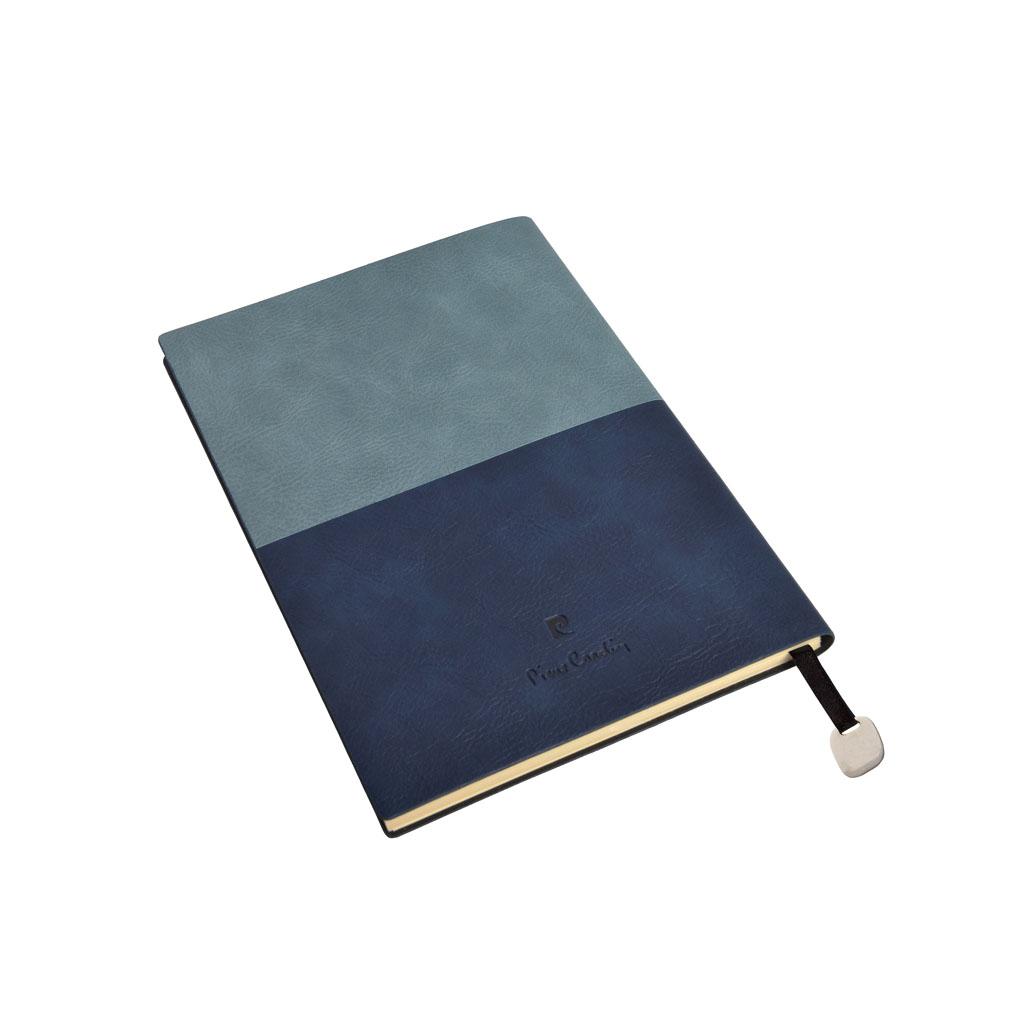 Pierre Cardin Reporter Blok A5 bodk., 160 I., modrý