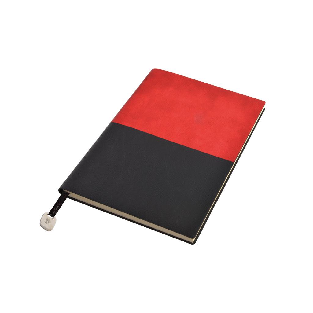 Pierre Cardin Reporter Blok A5 bodk., 160 I., červený