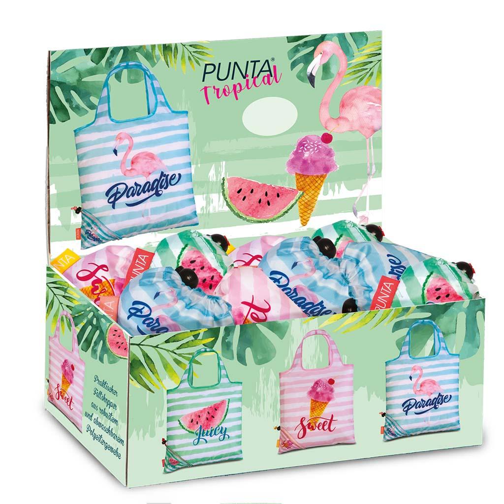 Fabrizio nákupná taška, Paradise, 38x38cm - mix motívov