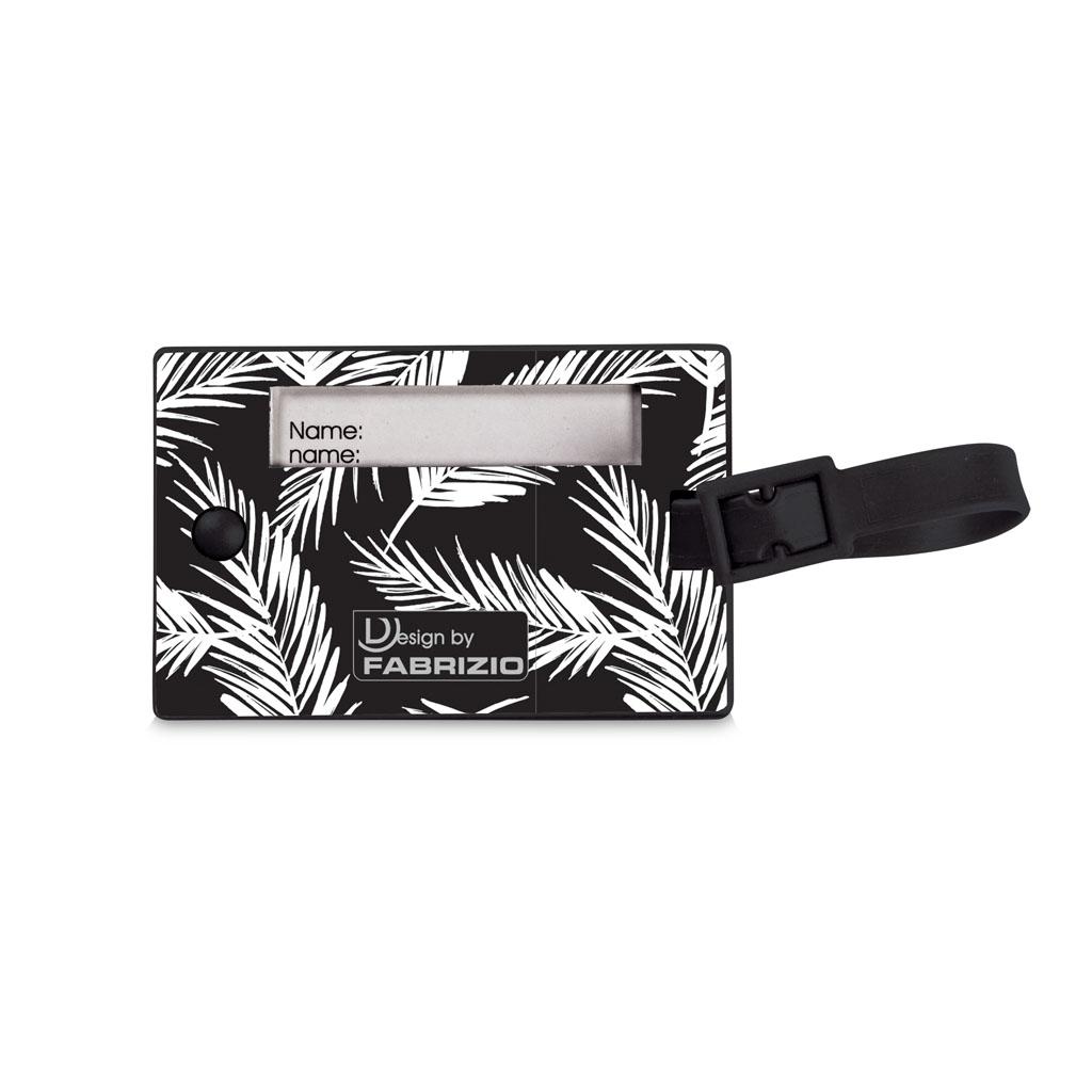 Fabrizio visačka na batožinu PVC 9x6cm - mix motívov