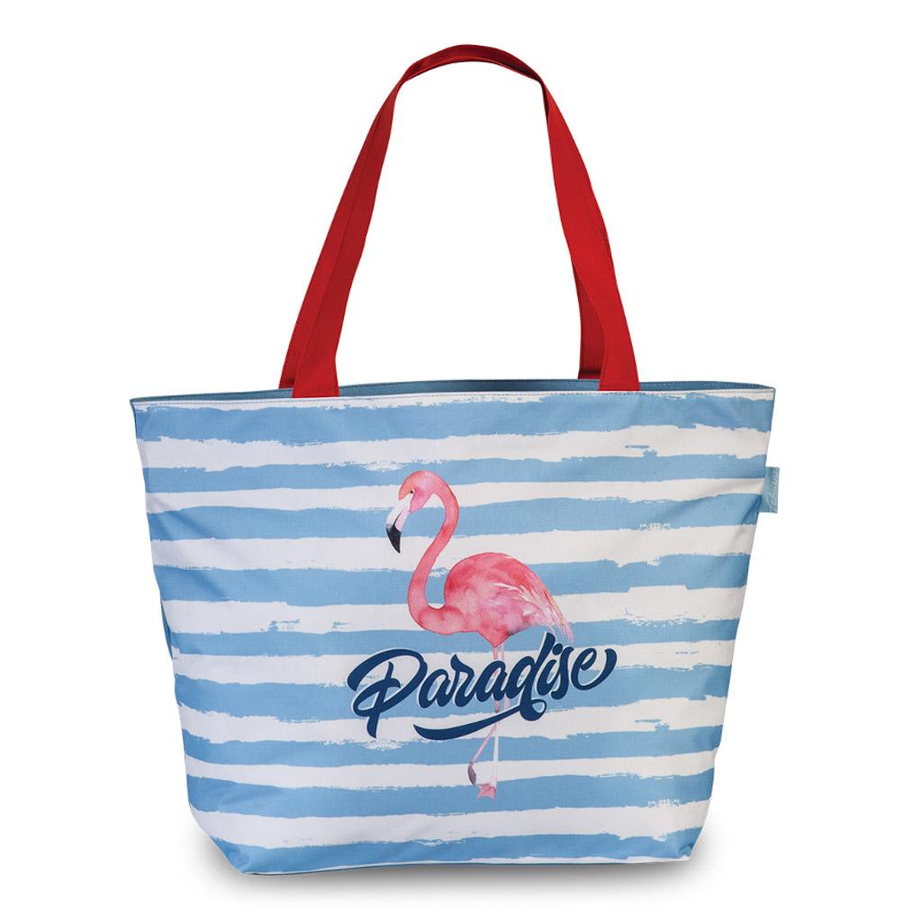 Fabrizio plážová taška, Paradise, 35/58 x 40 x 20 cm, mix motívov