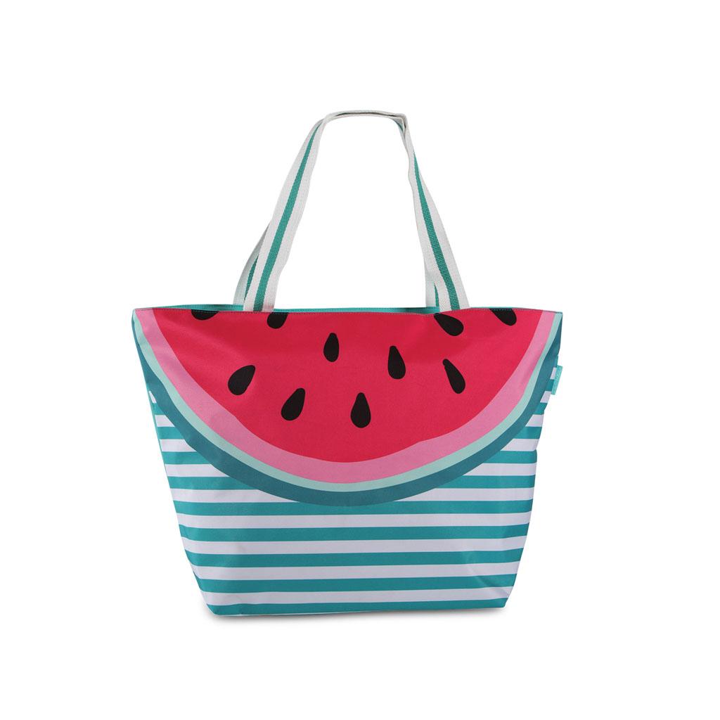 Fabrizio plážová taška, 38/58x40x20 cm, ovocie, mix motívov