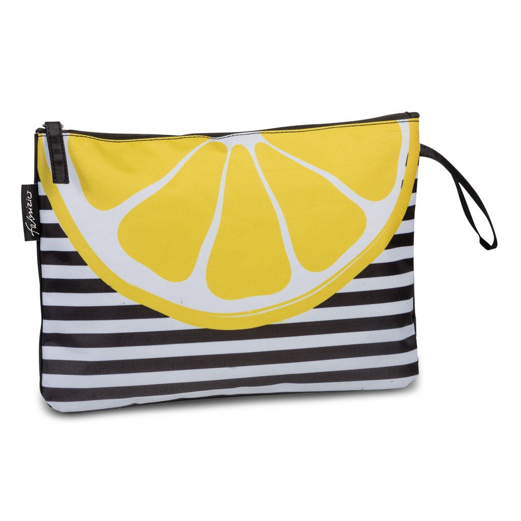 Fabrizio taška na plavky 30x20x1cm, ovocie, mix motívov