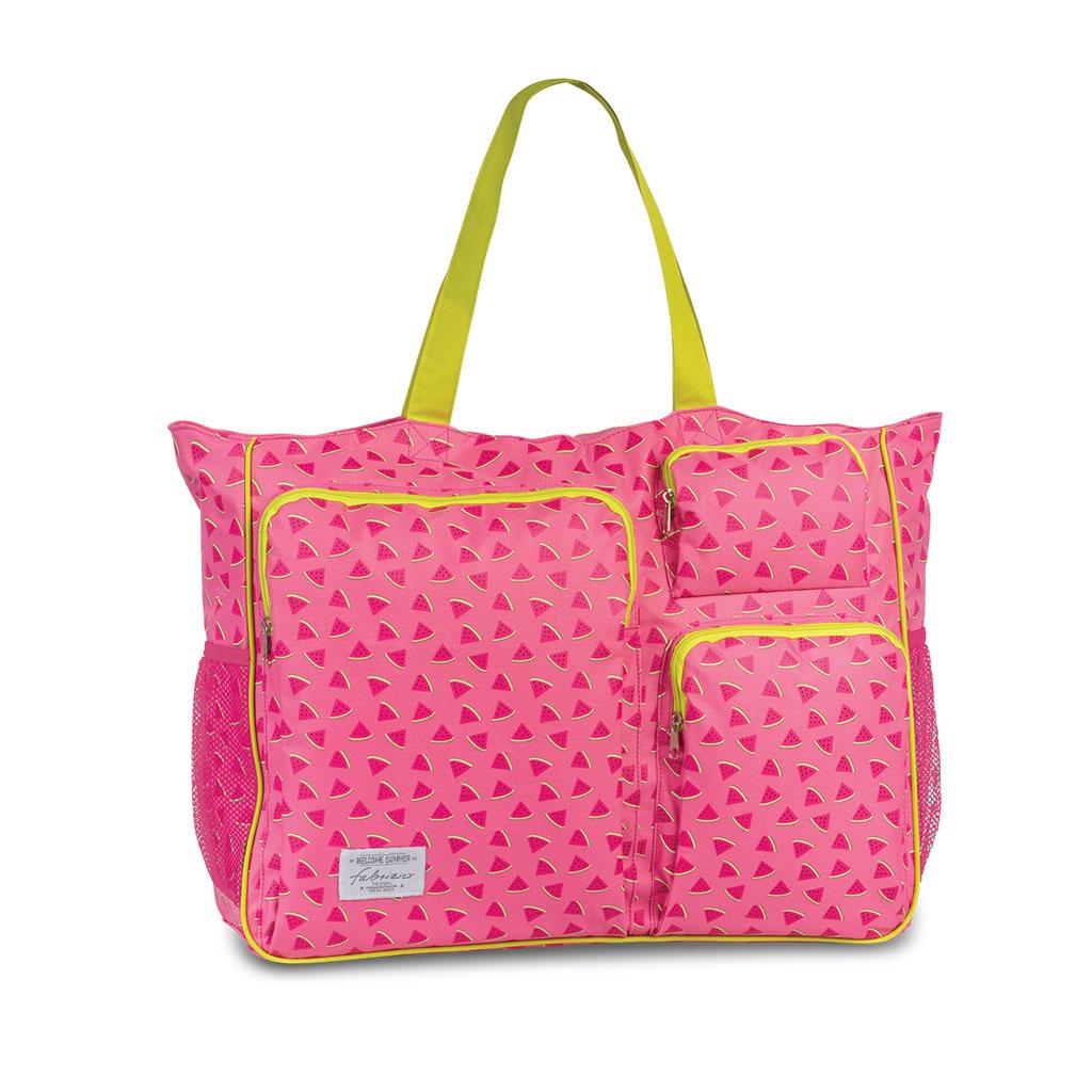 Fabrizio plážová taška XXL, ružová