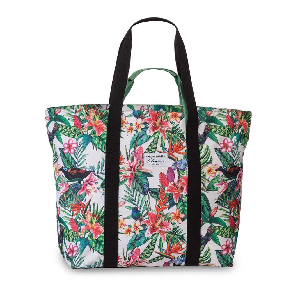 Fabrizio plážová taška XXL, 46/66 x 48 x 20 cm, kvety