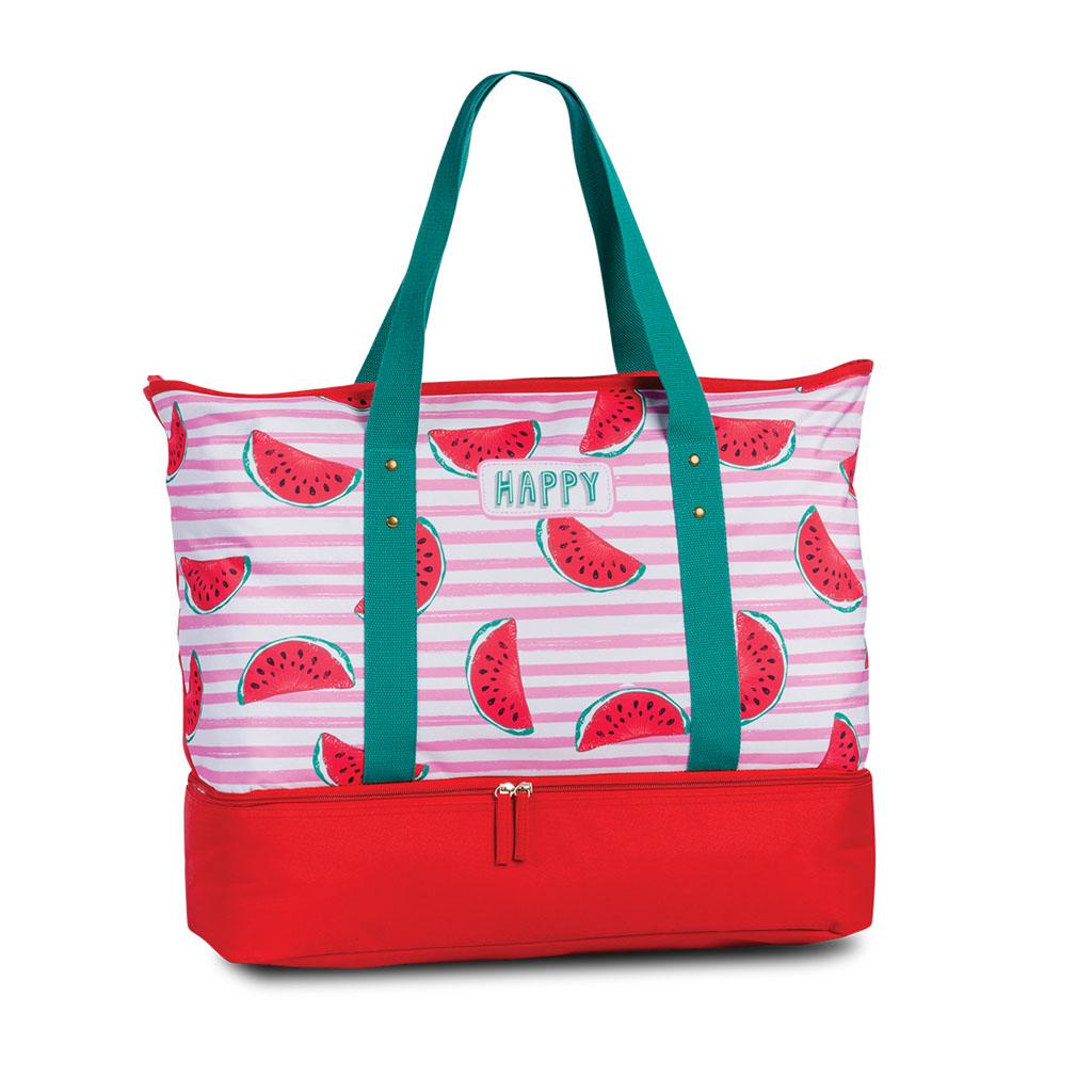Fabrizio plážová chladiaca taška, ružová