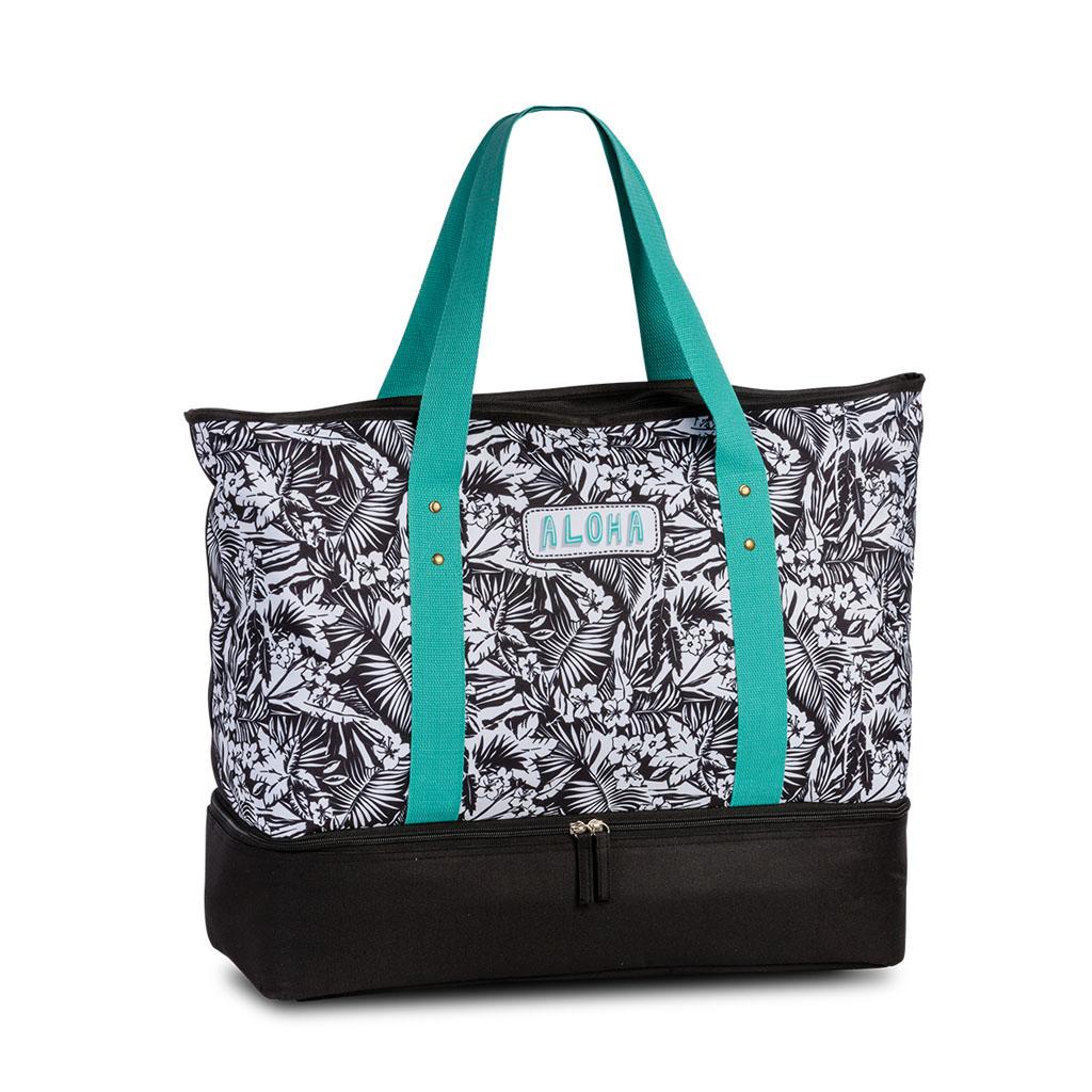 Fabrizio plážová chladiaca taška, čierna