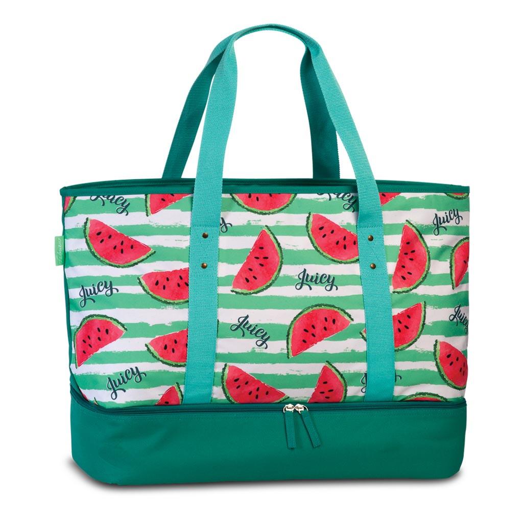 Fabrizio plážová chladiaca taška, Paradise, 50/58 x 43 x 20 cm, mix motívov