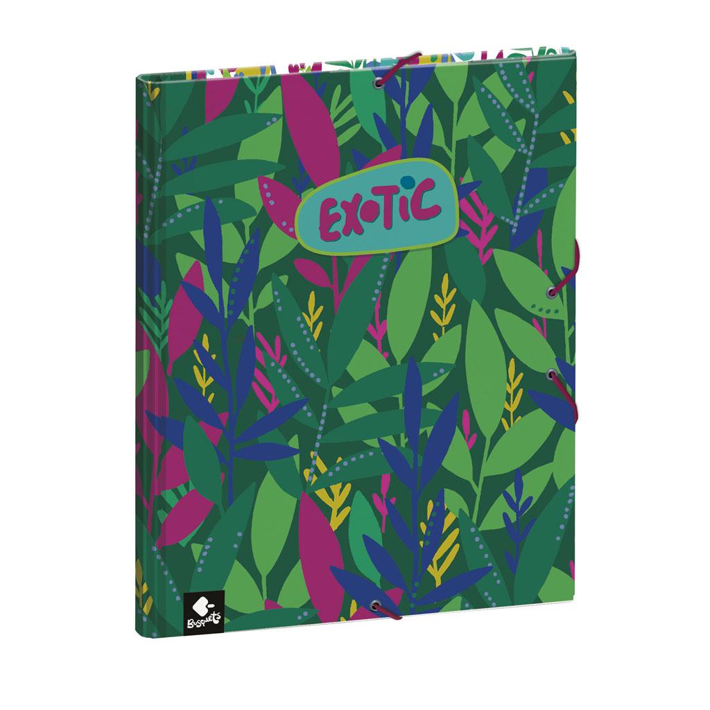 Dosky s boxom Busquets A4 lamino - Exotic