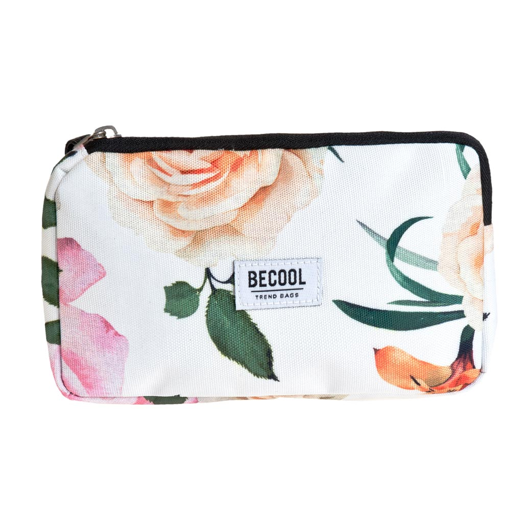 Kozmetická taška Busquets, 17,5x10x2cm, BECOOL Roses