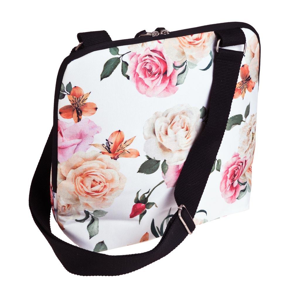 Izotermická obedová taška Busquets, 28x30x12cm, BECOOL Roses
