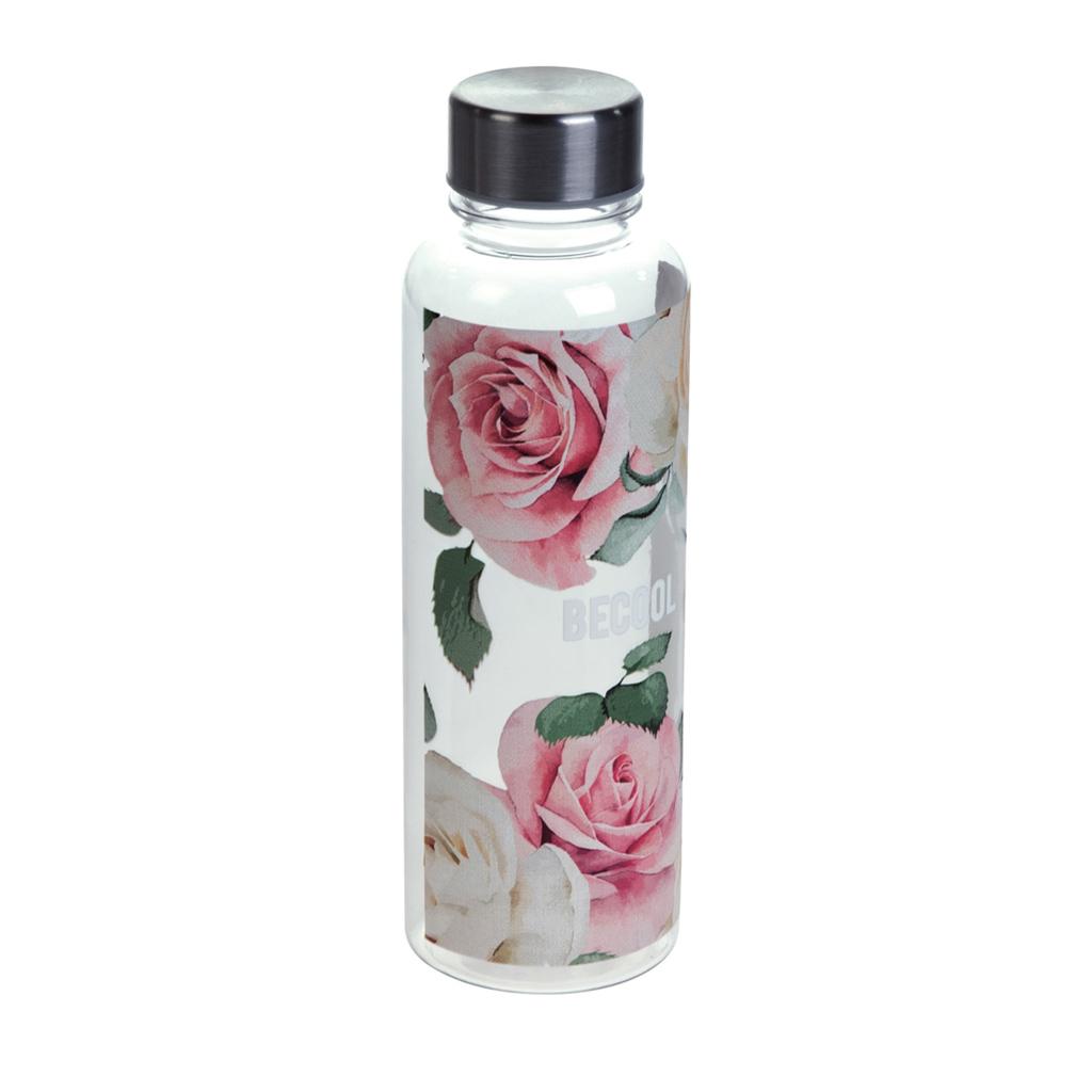 Fľaša Busquets, BECOOL Roses, 500 ml