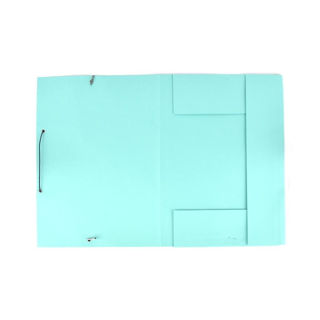 Odkladacia mapa OM 3 LUX 250 g s gumou - zelená