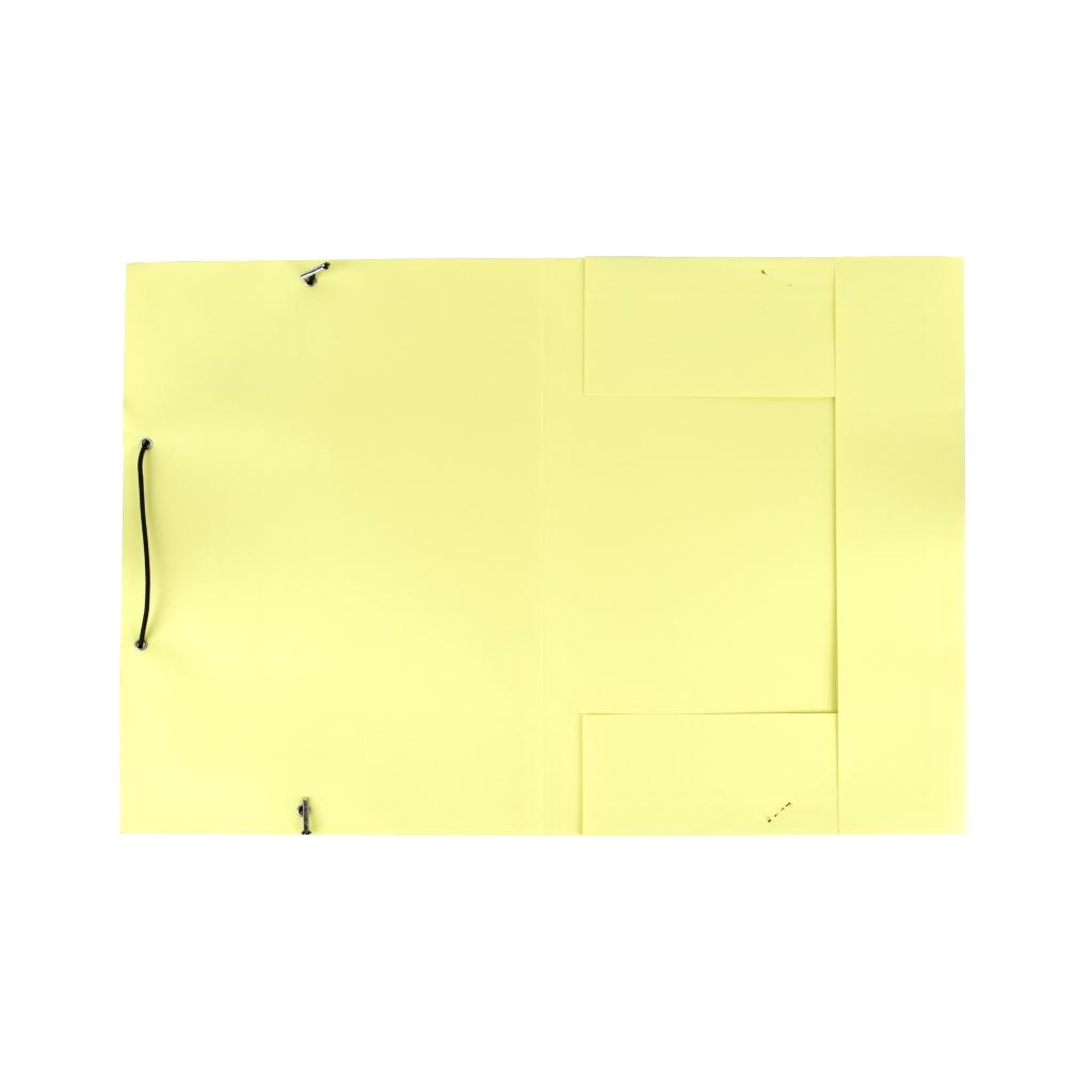 Odkladacia mapa OM 3 LUX 250 g s gumou - žltá