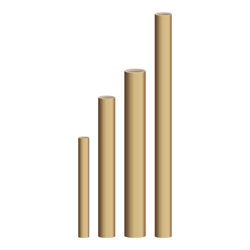 Tubus okrúhly 1000 mm x 80 mm (priemer)