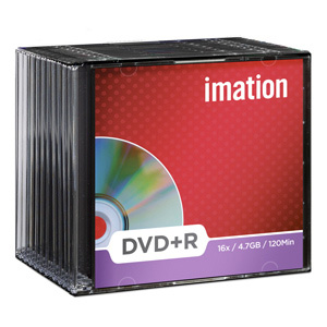 DVD+R Imation 4,7GB, 16x, slim box - 21747