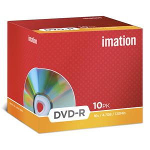 DVD-R Imation 4,7GB, 16x, plastový jewel obal - i21976