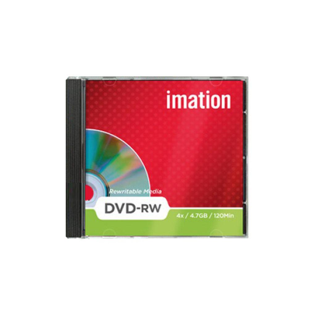 DVD+RW Imation 4,7GB, 4x, plastový jewel obal - i19008