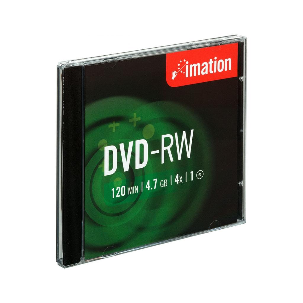 DVD-RW Imation 4,7GB, 4x, plastový jewel obal - i21061