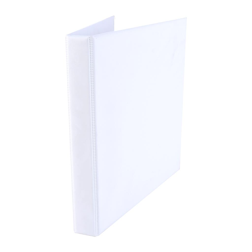 Zakladač 4-krúž. A4 3 cm PVC - biela