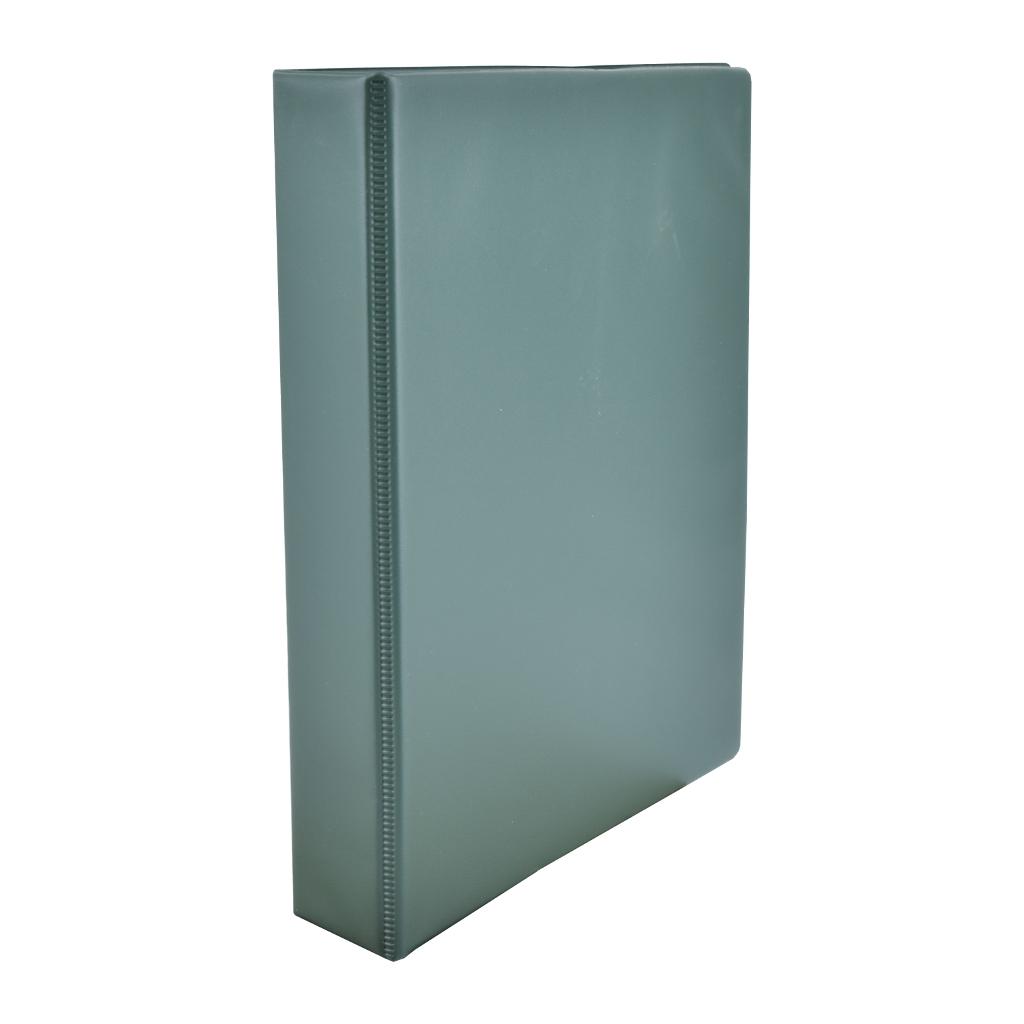 Zakladač 4-krúž. A4 3 cm PVC - tmavo-zelená