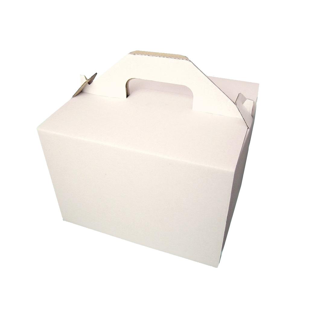 Krabica na zákusky menšia 180x160x125 mm