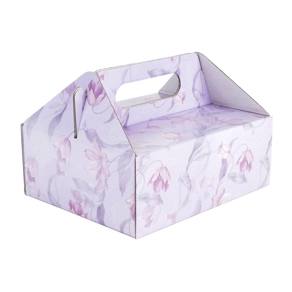 Krabica na zákusky zm4 / 16cm x19,5cm x 7,5 cm