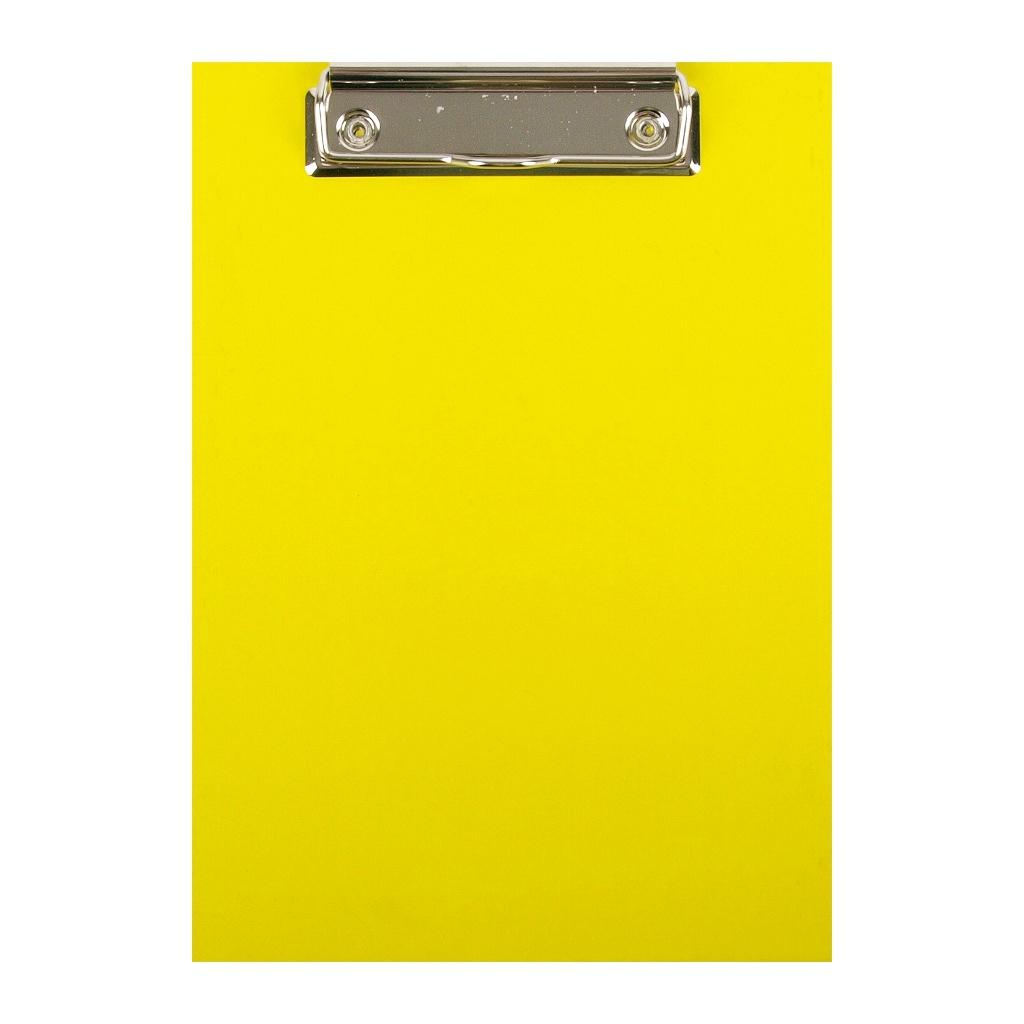Podložka klip A5 lamino - žltá