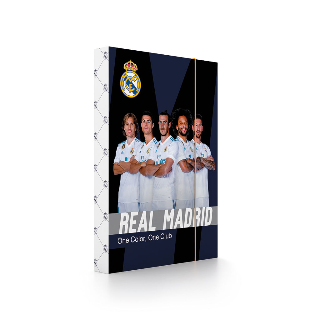 Dosky s boxom A4 lamino - Real Madrid /1-80318/