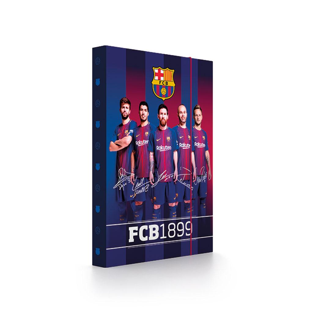 Dosky s boxom A4 lamino - FC Barcelona /1-80218/