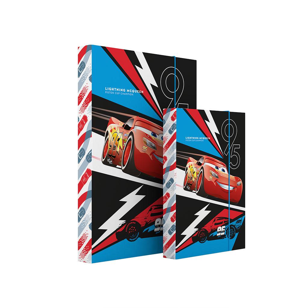 Dosky s boxom A4 lamino - Cars 3 /1-83017/