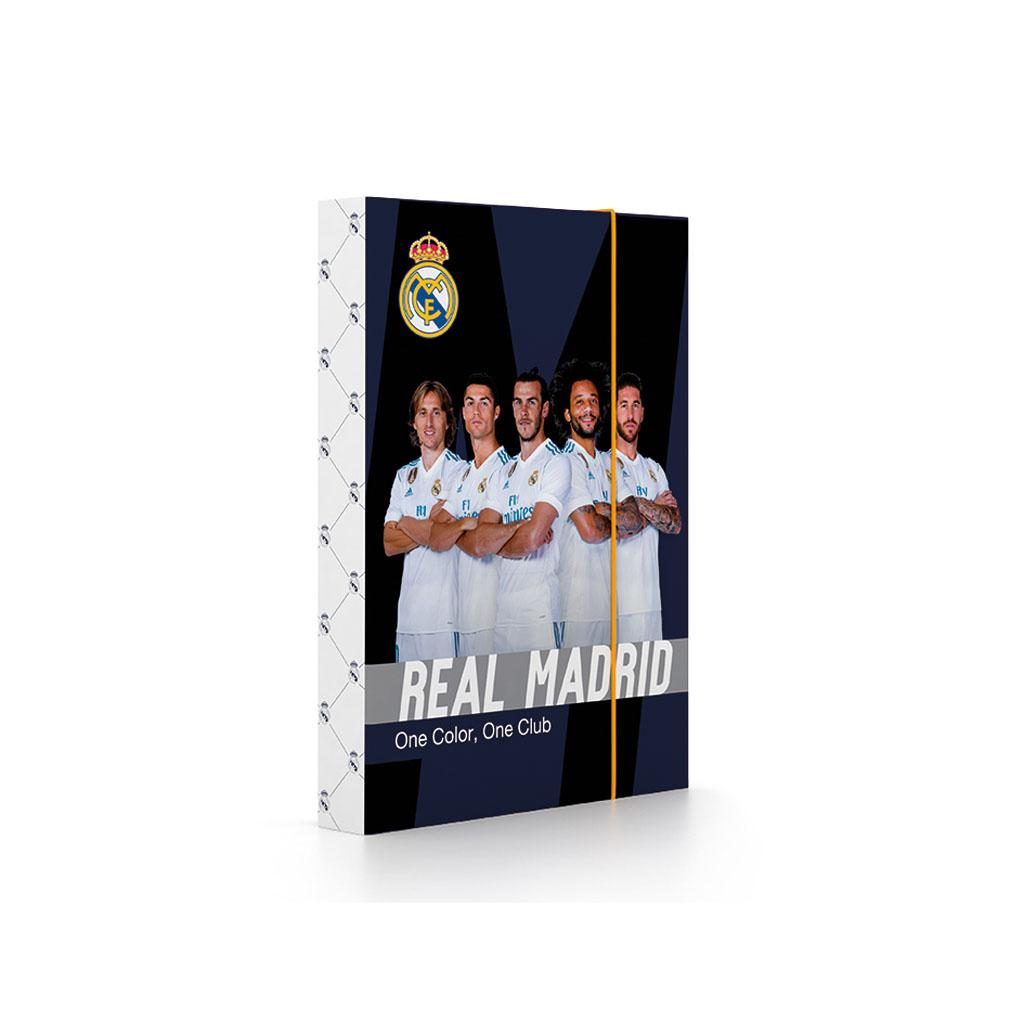 Dosky s boxom A5 lamino - Real Madrid /1-66718/