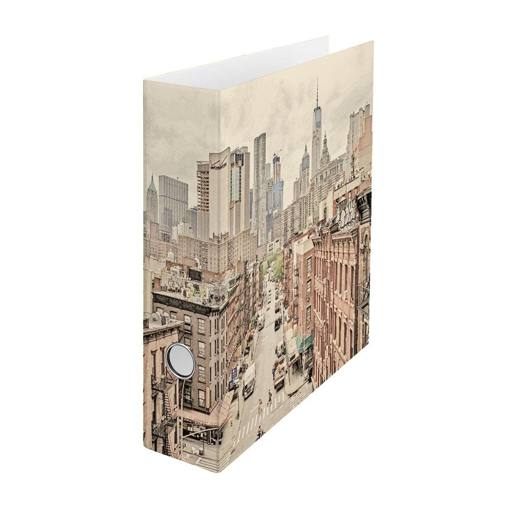 Zakladač pákový A4 8cm lamino - Manhattan