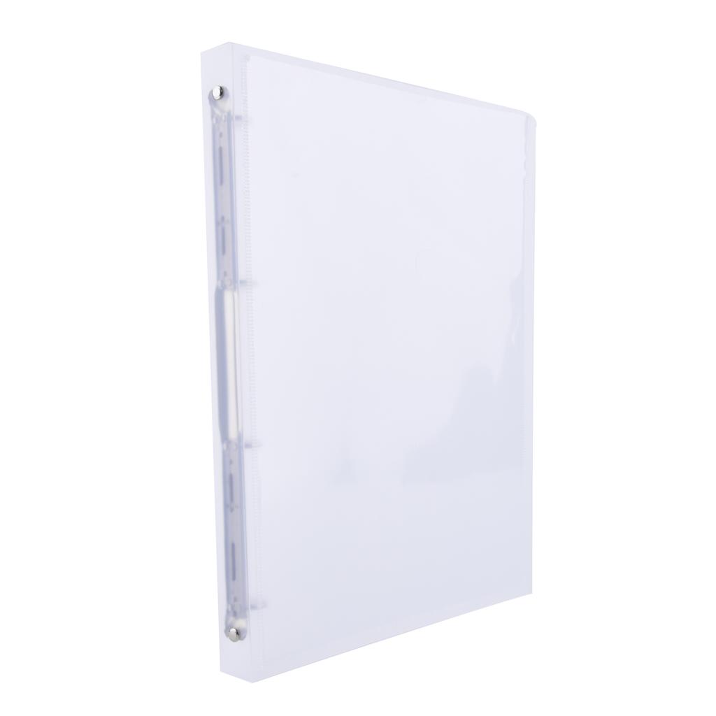 Karisblok prezentačný Opaline, 4-krúž., A4, 2 cm, PP, číry /2-102/