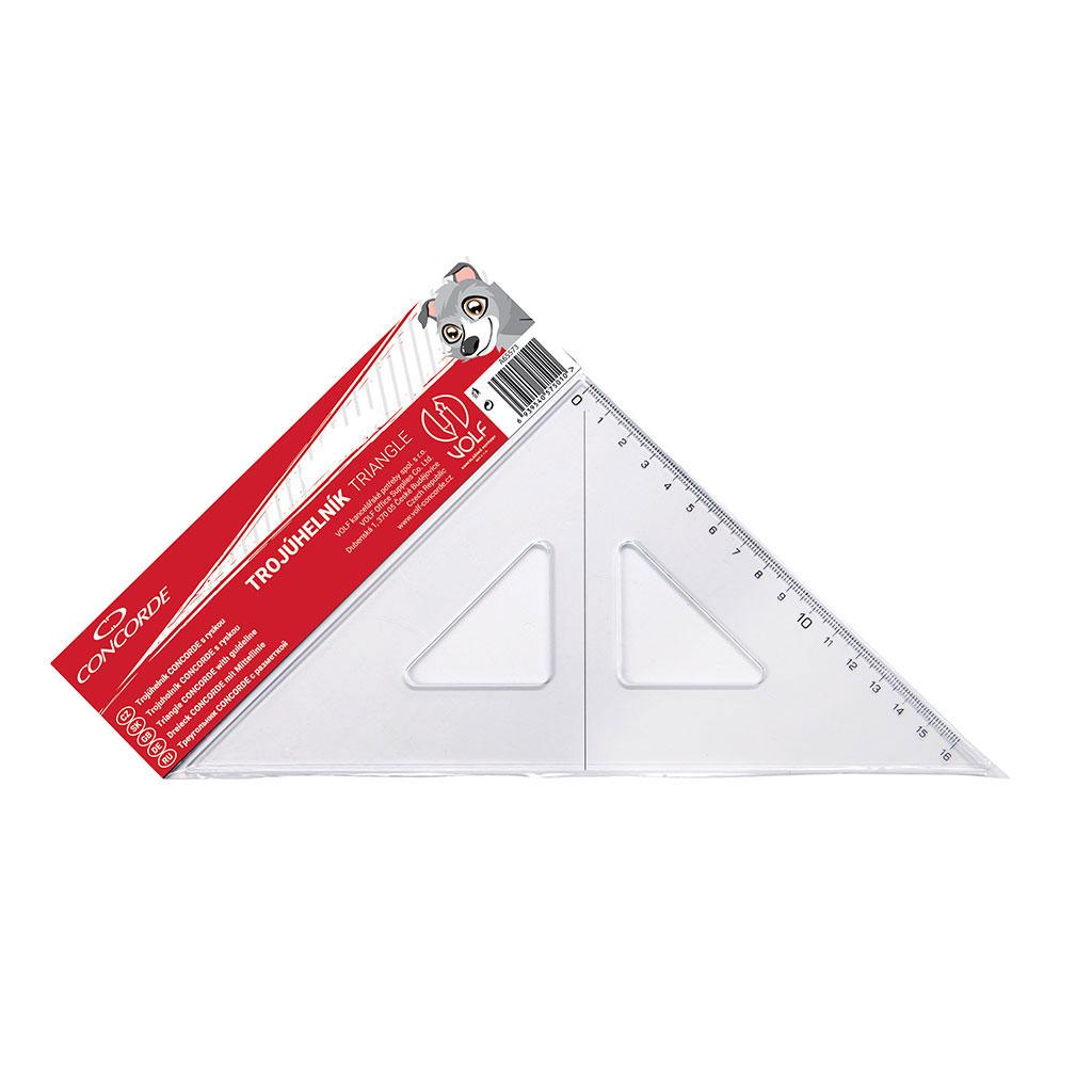 Trojuholník s kolmicou