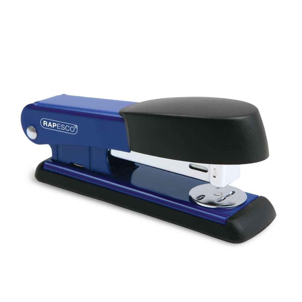Rapesco Zošívačka Bowfin 535 24/6 kov. 25 l. - modrá