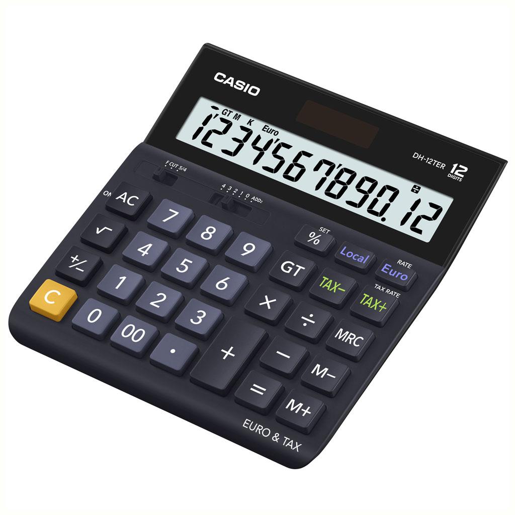 Kalkulačka Casio D 20 TER / DH 12 TER stolová, 12m. /€