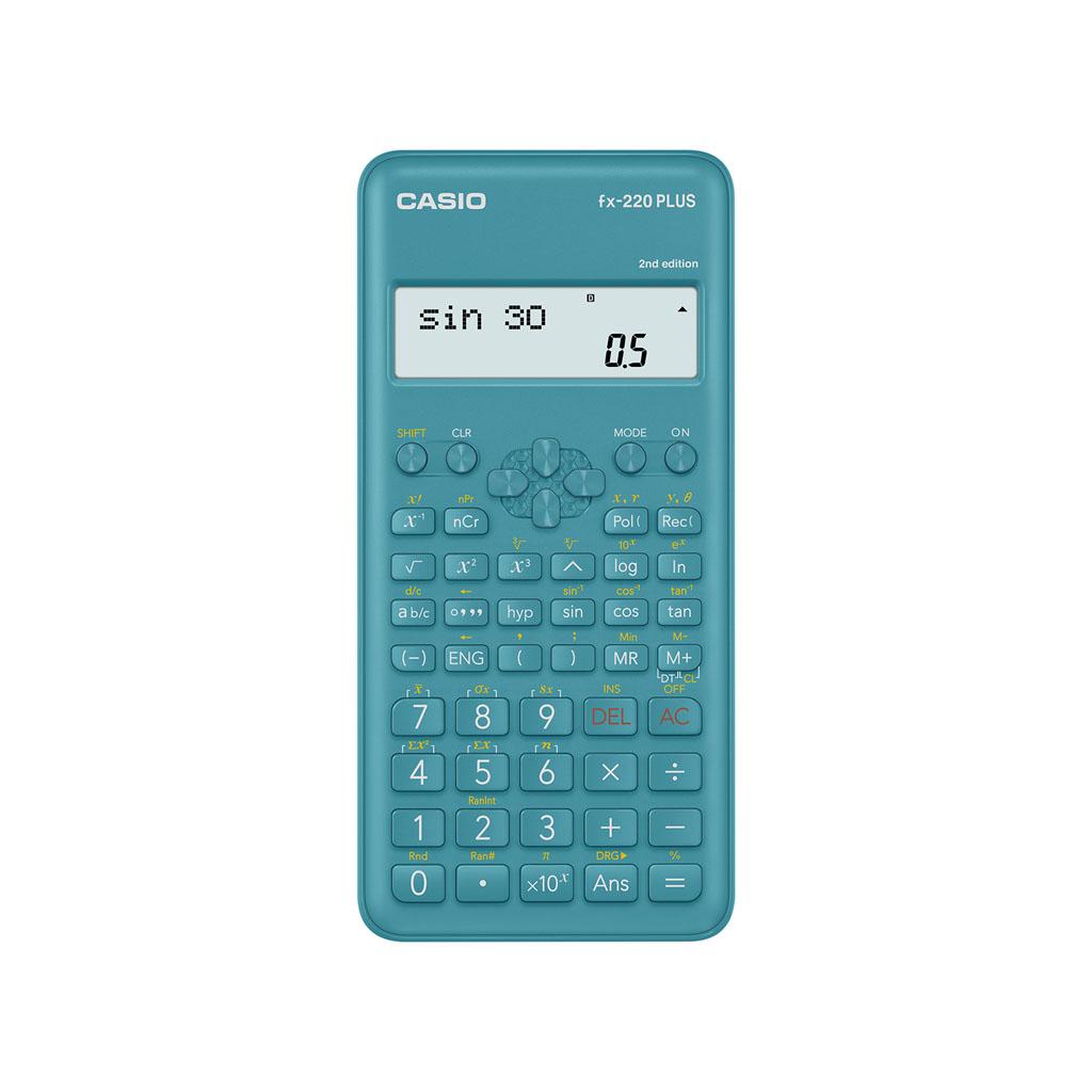Kalkulačka Casio FX 220 plus 2E s mat. funk., 10+2m.