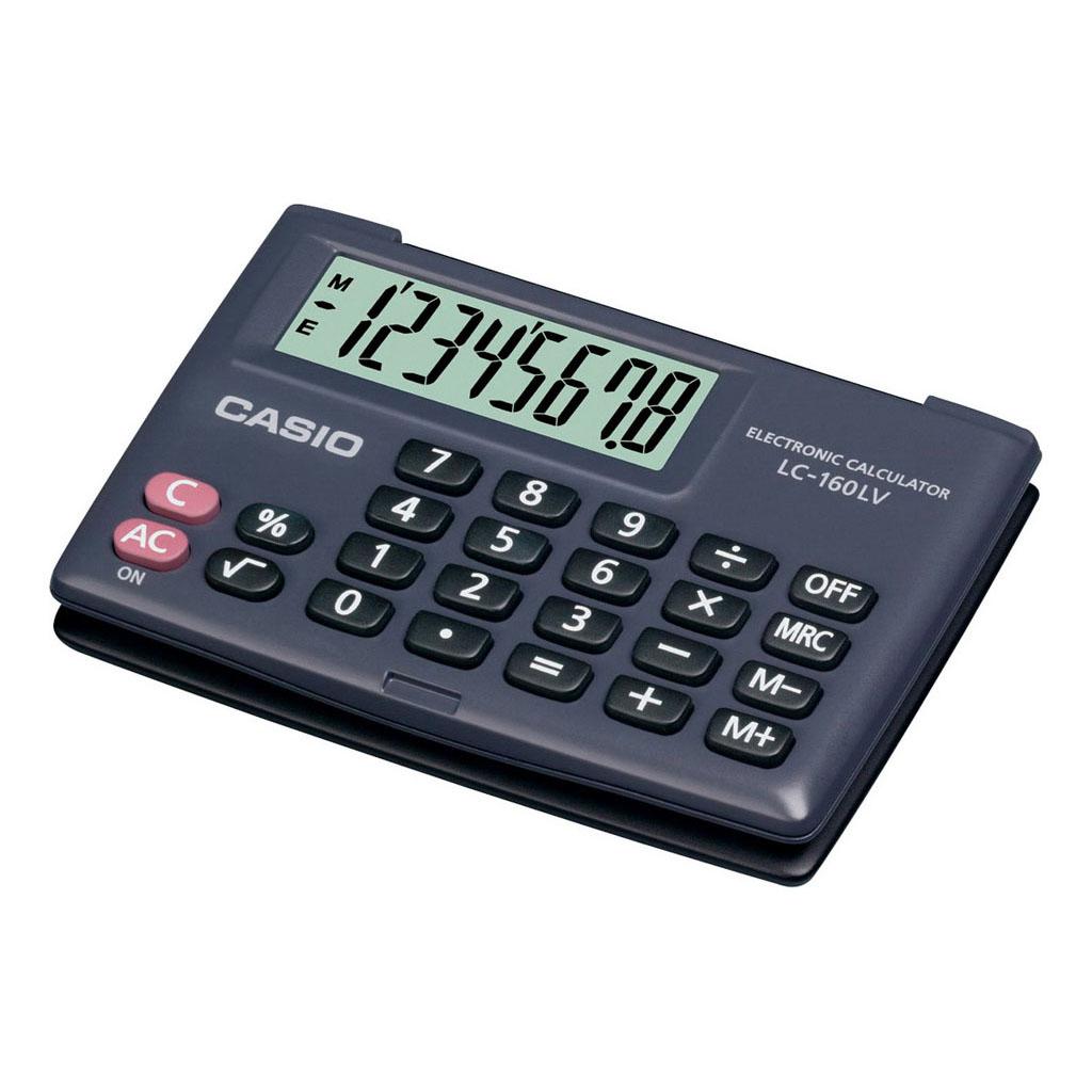 Kalkulačka Casio LC 160 LV/ vrecková, 8m.