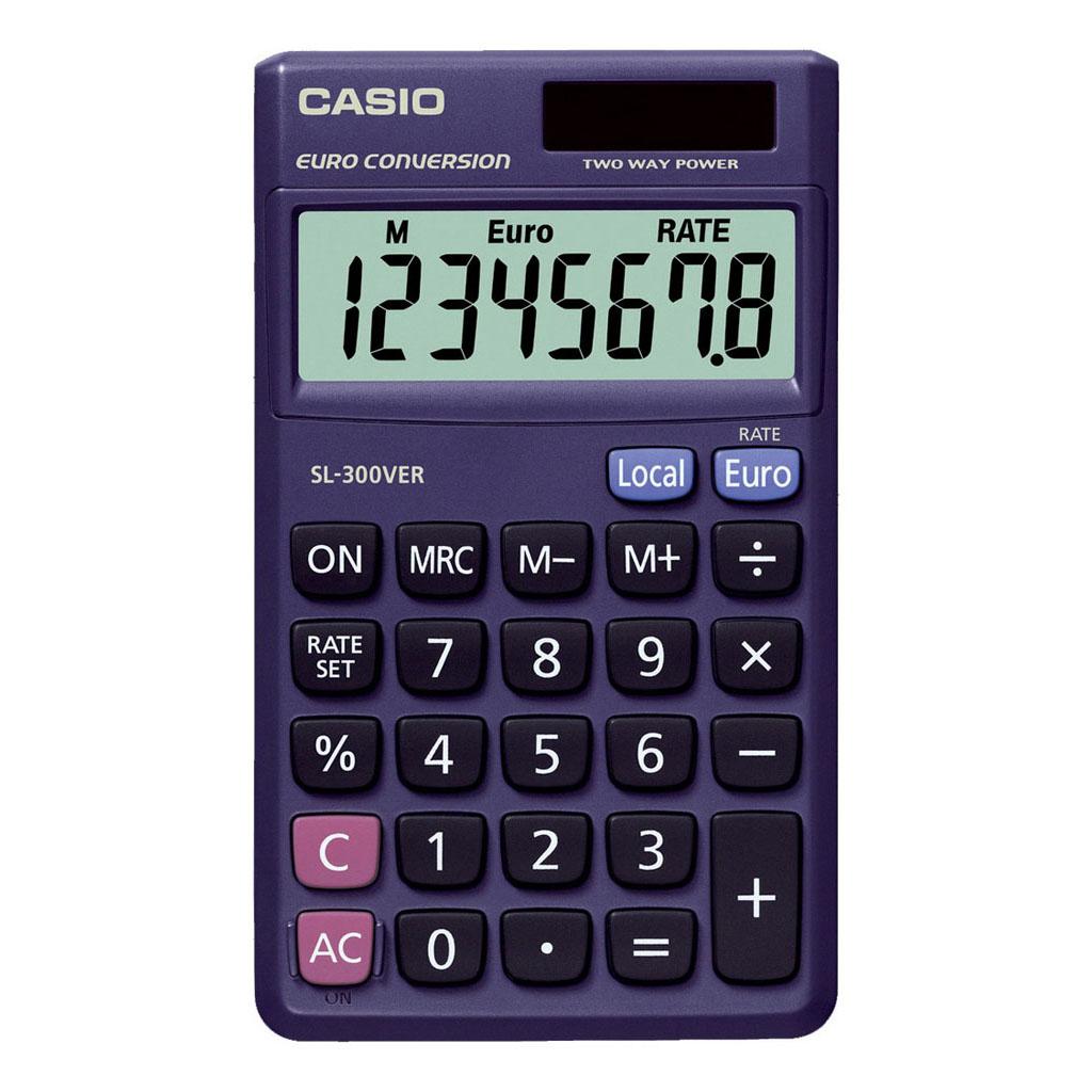 Kalkulačka Casio SL 300 VER /vrecková, 8m./€