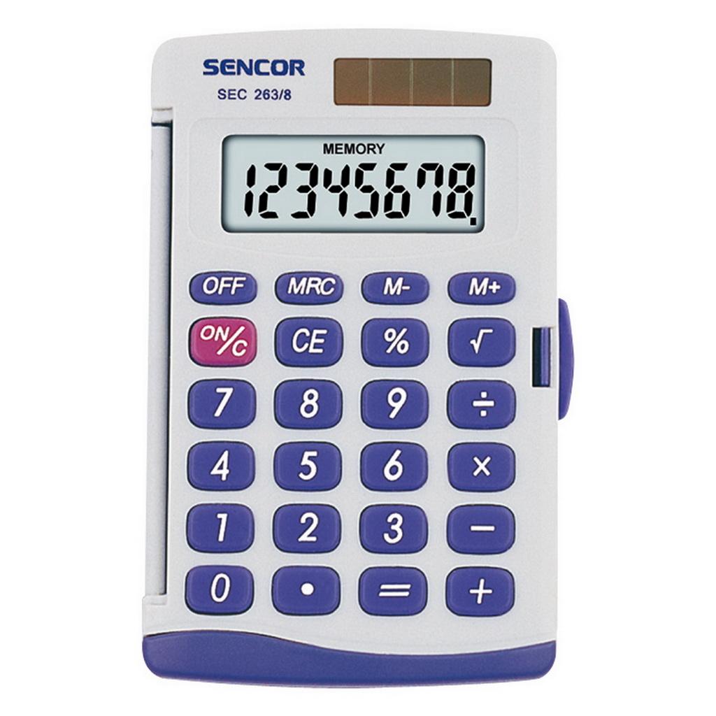 Kalkulačka Sencor SEC 263 / vrecková 8m.