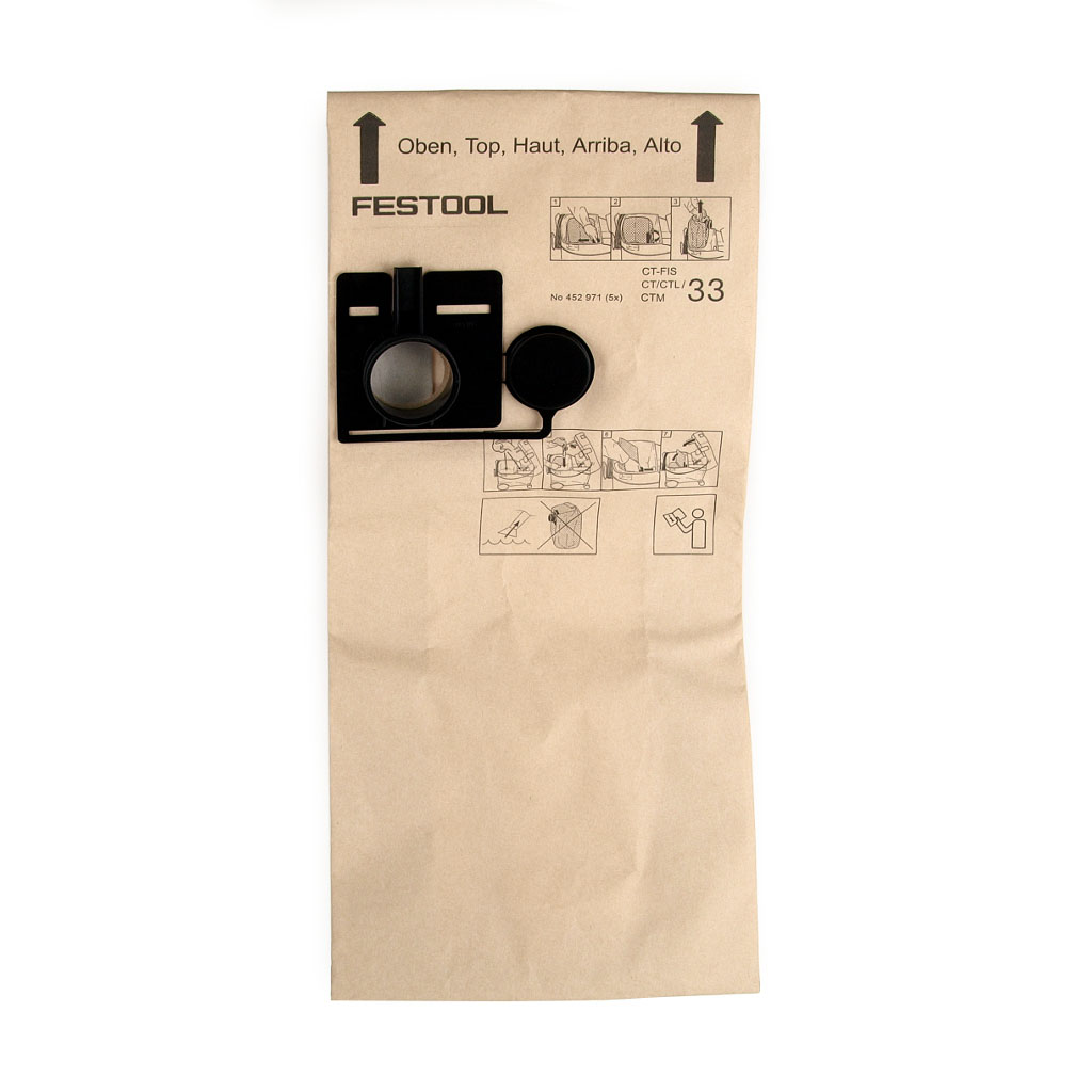 Vrecko filtračné FIS-CT3 do priem. vysávača FESTO CY 33E č. 452971 (kód 25327)