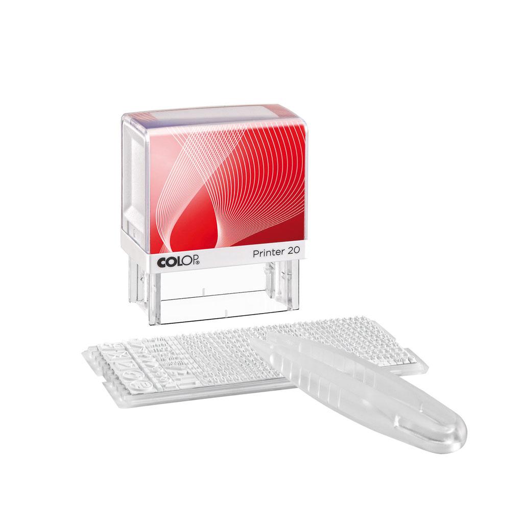 Pečiatka so sadou znakov - Colop Printer 20N/1(38 x 14 mm)