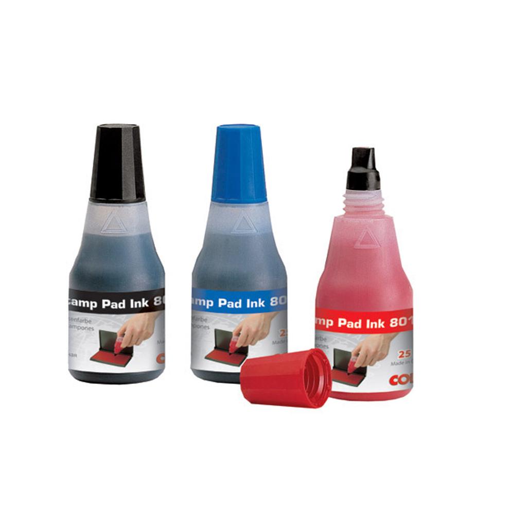 Pečiatková farba Colop - červená, 25 ml