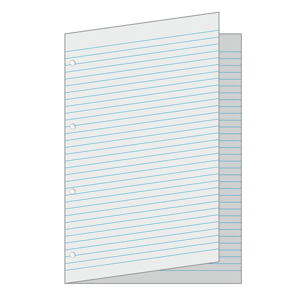 Papier linajkový A3 / dvojhárok, 4 x dierovanie (5x10 ks-balenie)