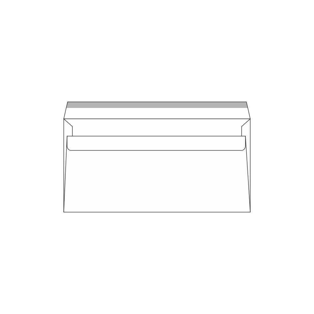 Obálky DL samolepiace / 100 ks