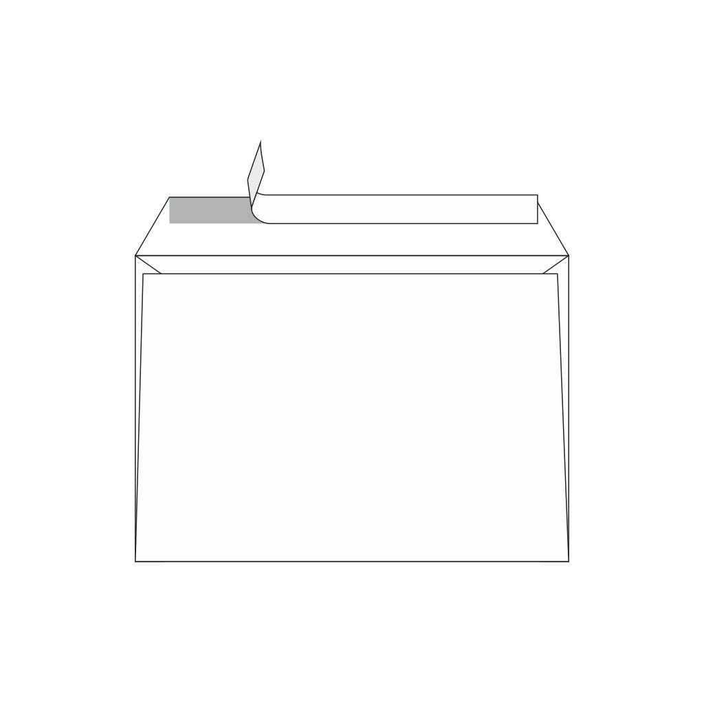 Obálky C5 s odtrhávacou páskou / 100 ks