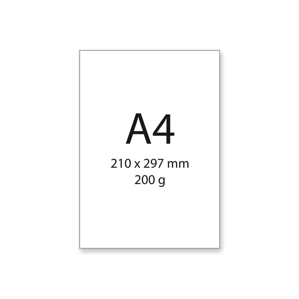 Výkres na kreslenie a rysovanie, A4, 190 g/25 ks
